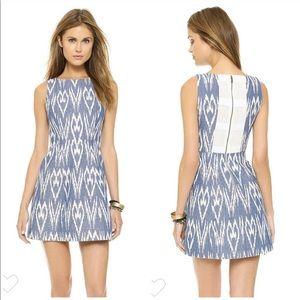 "Alice + Olivia ""Epstein"" Ikat poof Dress 0"